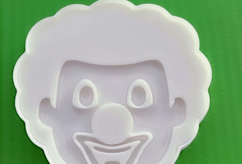 Tagliabiscotti- stampo clown