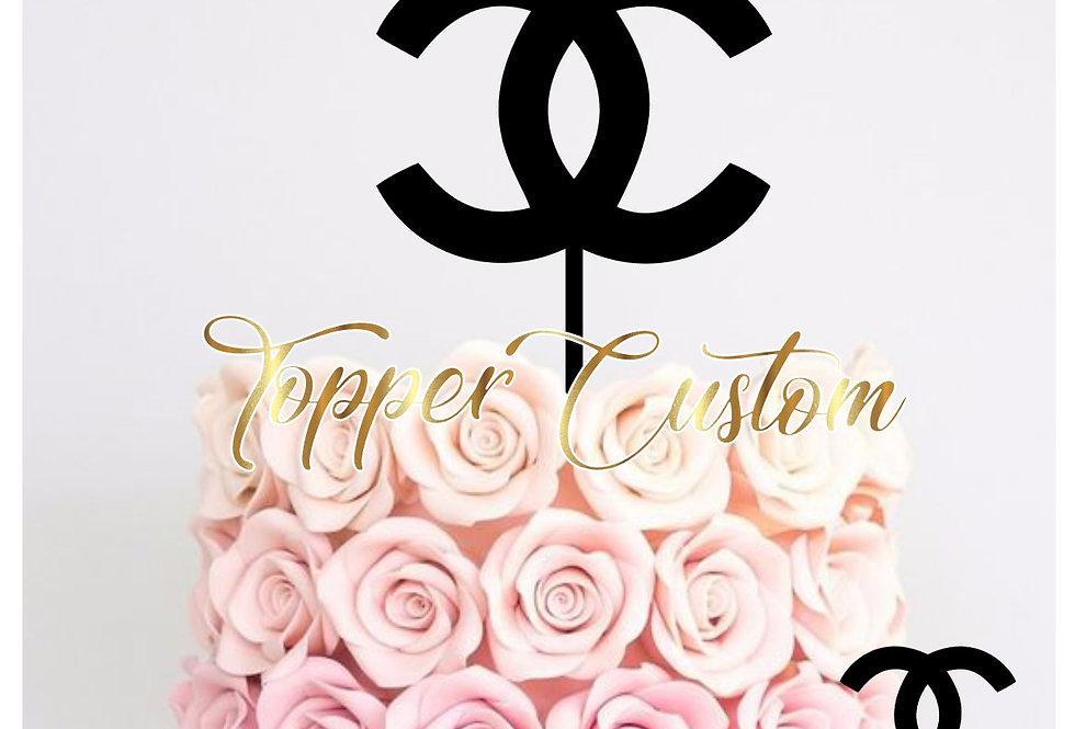Topper  per torta  di Chanel