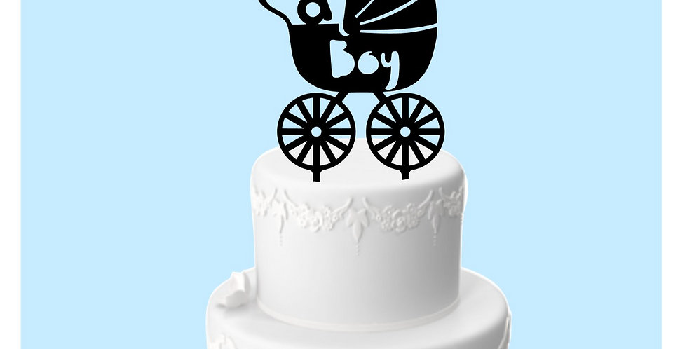Topper Cake Baby Shower