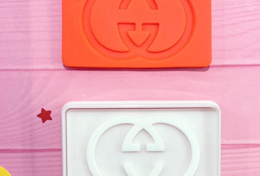 Set taglierina -stampo Logo GUCCI