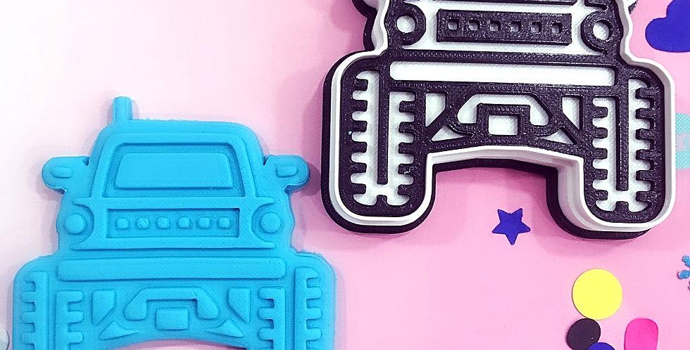 Tagliabiscotti con stampa Jeep