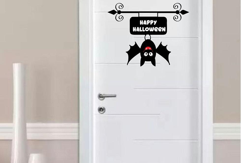 Decorazione porta per Halloween