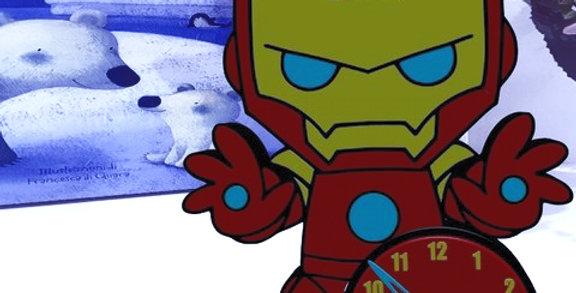 Orologio personalizzato Inspired  Iron Man