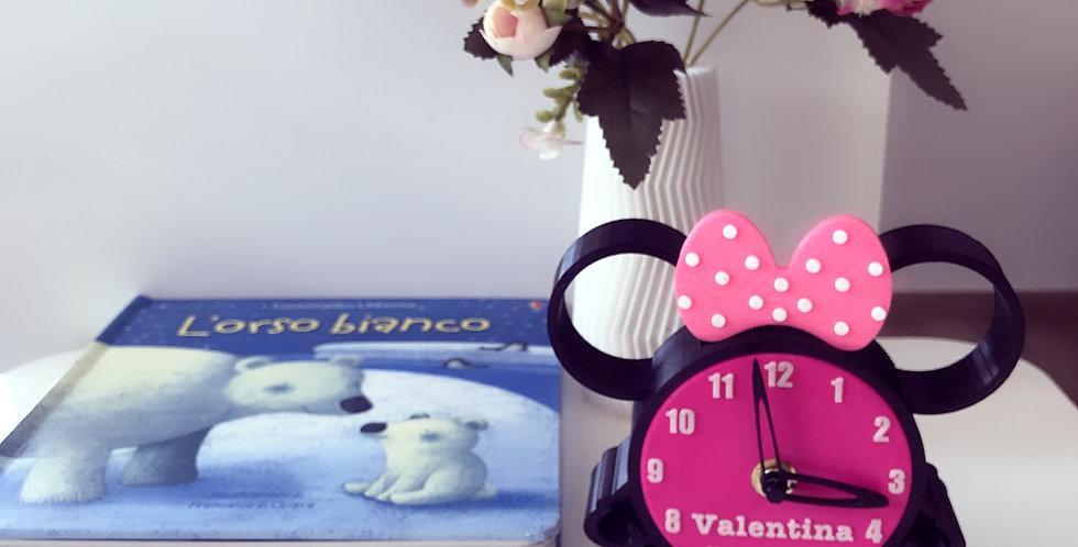 Orologio personalizzato Minnie Mouse