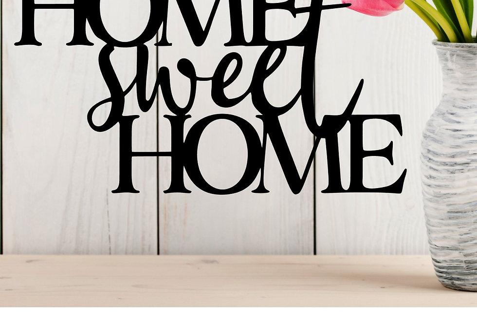 Decorazione Muro Home Sweet home