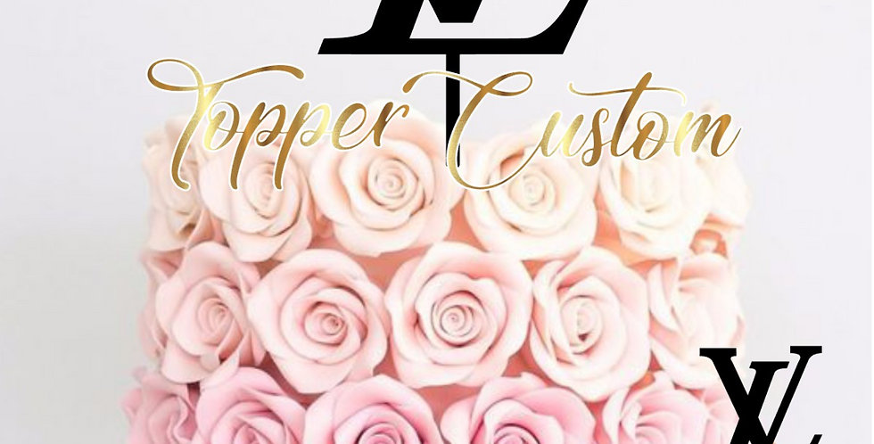 Toppers Cupcakes LV