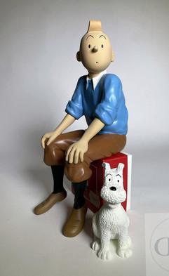 Tintin et Milou Leblon Delienne