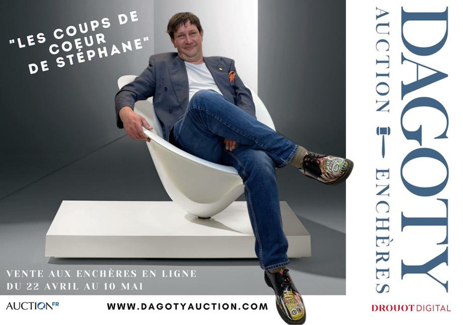 Vente Art & Design avec Stéphane