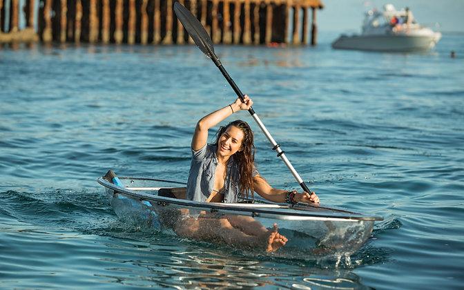 Single Seat Transparent Kayak