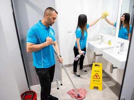 We *Heart* Deep-Cleaned Bathrooms