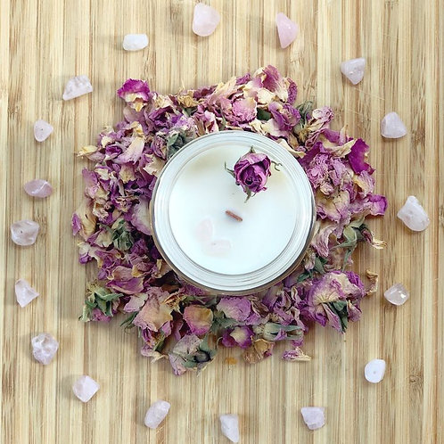 WarmHeart Soy Candle
