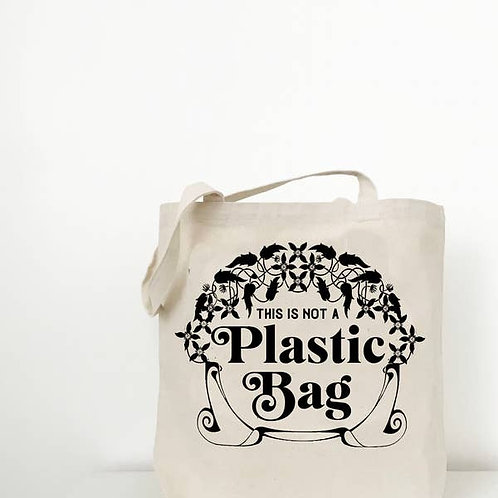 Not a Plastic Bag bag