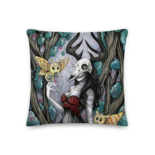 Lumenara the Witch Premium Pillow