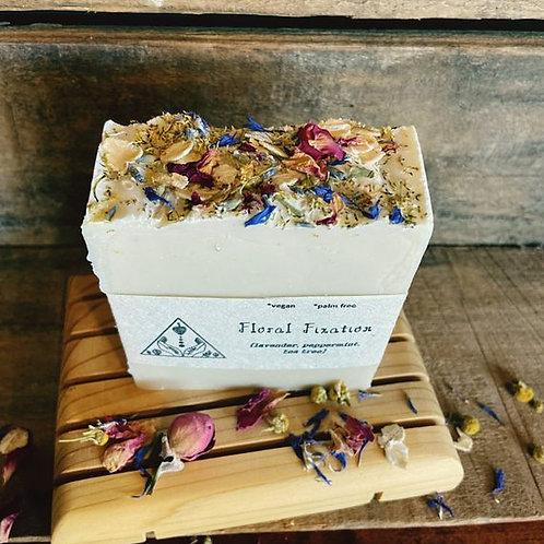 Floral Fixation Bar Soap- VEGAN