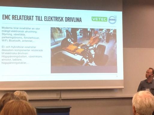 Anders Bergqvist, presentation under COMSOL day