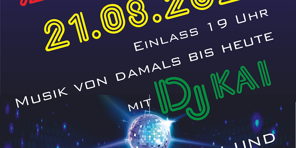 Zeltparty mit DJ Kai