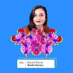 Lire entretien avec Krystal Turcan, Border-lineuse