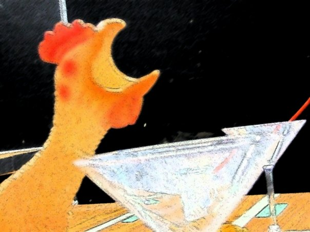 Chicken Martini!