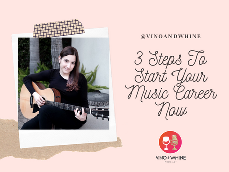 3 Steps To Start Your Music Career Now