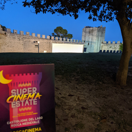 Watch a Movie Outdoors in a Castle