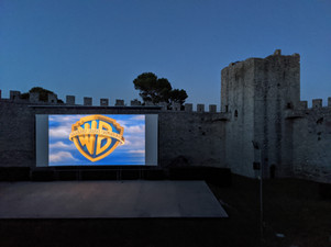 Movie in a Castle
