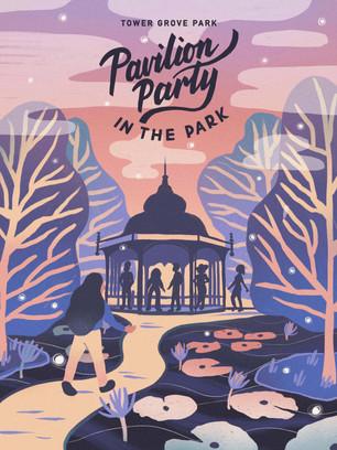 Pavilion Party Poster
