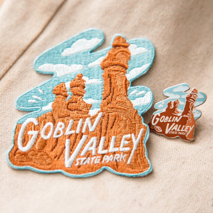 Goblin Valley Official Pin & Patch