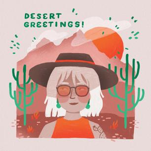 Desert Greetings