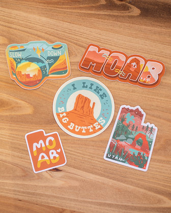 Five Sticker Bundle