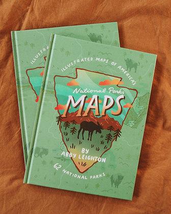 """National Parks Maps"" Signed Book (Pre-Order)"