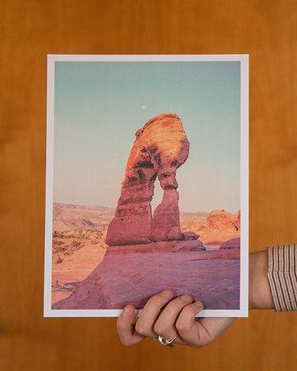 """Delicate Arch 8.5""""x11"""" Film Print"""