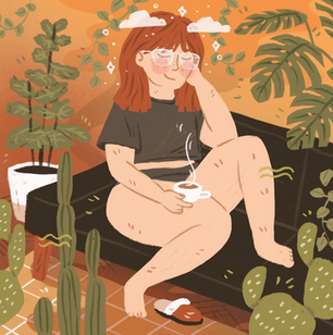 Chillin' With My Plants