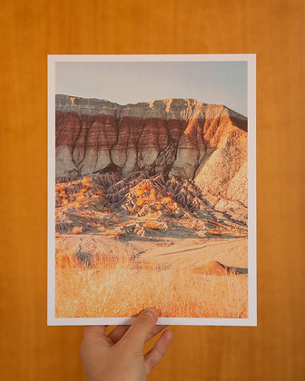"Painted Desert 8.5""x11"" Film Print"