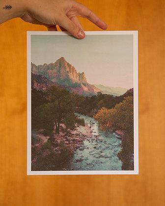 "The Watchman 8.5""x11"" Film Print"
