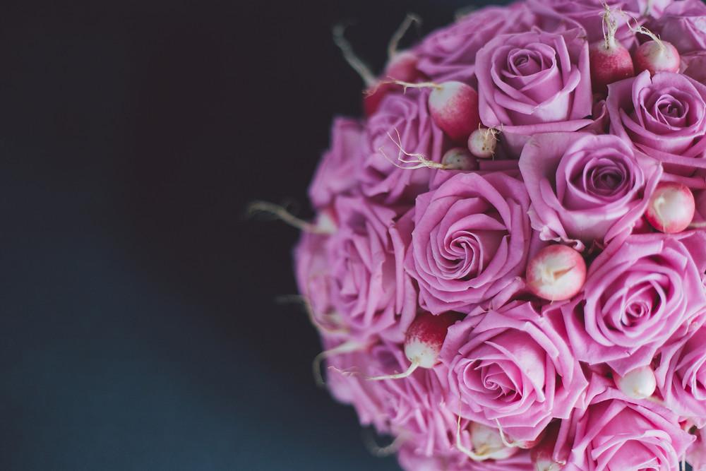 Composition florale traiteur et réception photo Jordane Chaillou