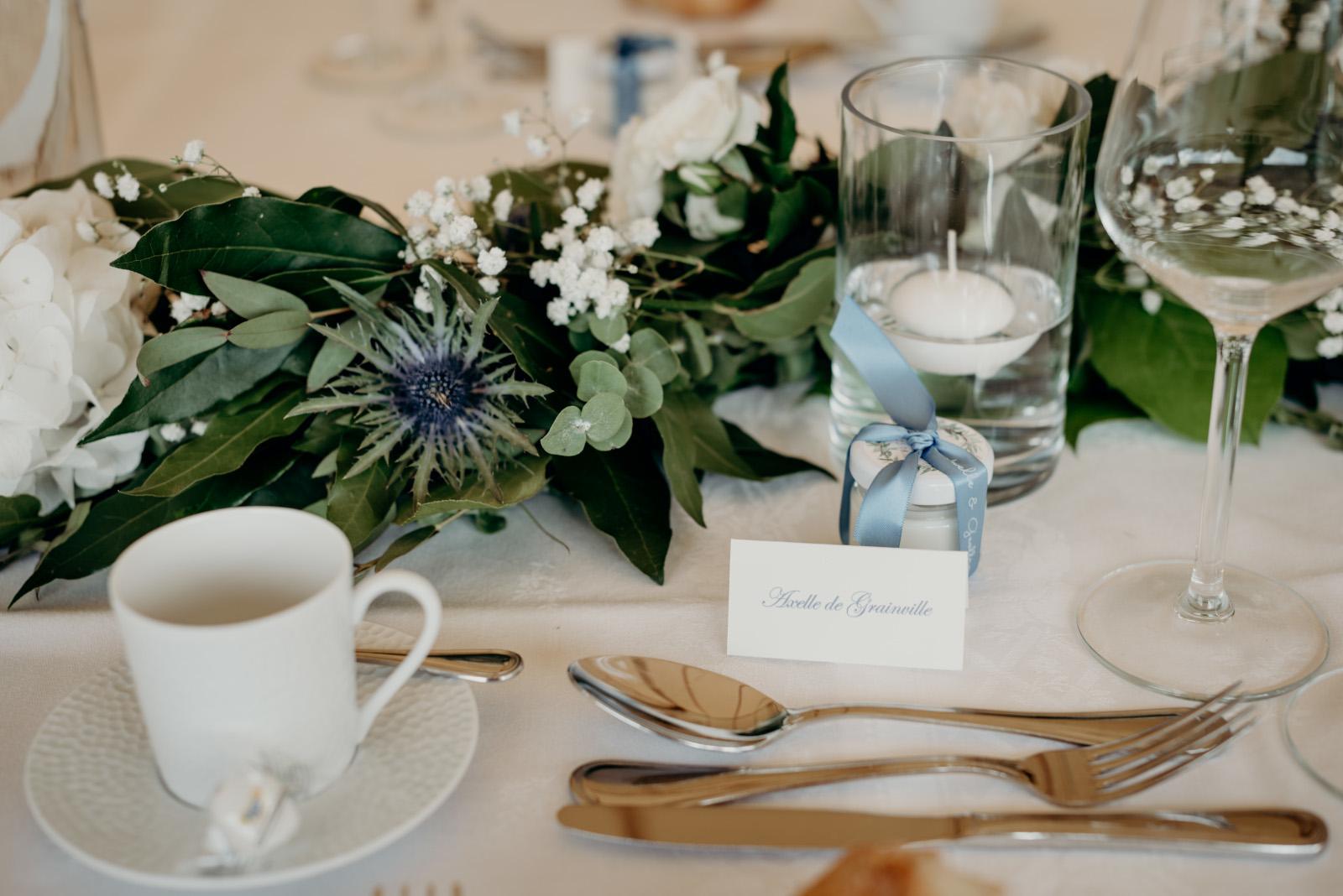 Mariage A&G centre de table 2