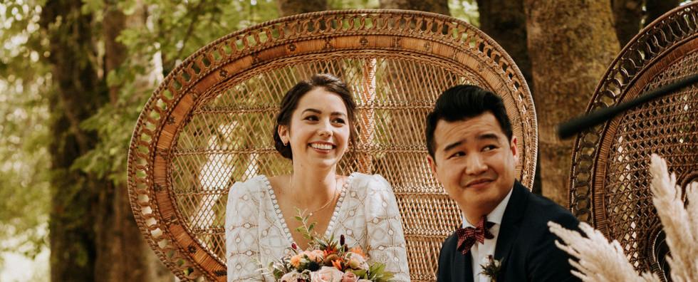 Couple mariés Angers