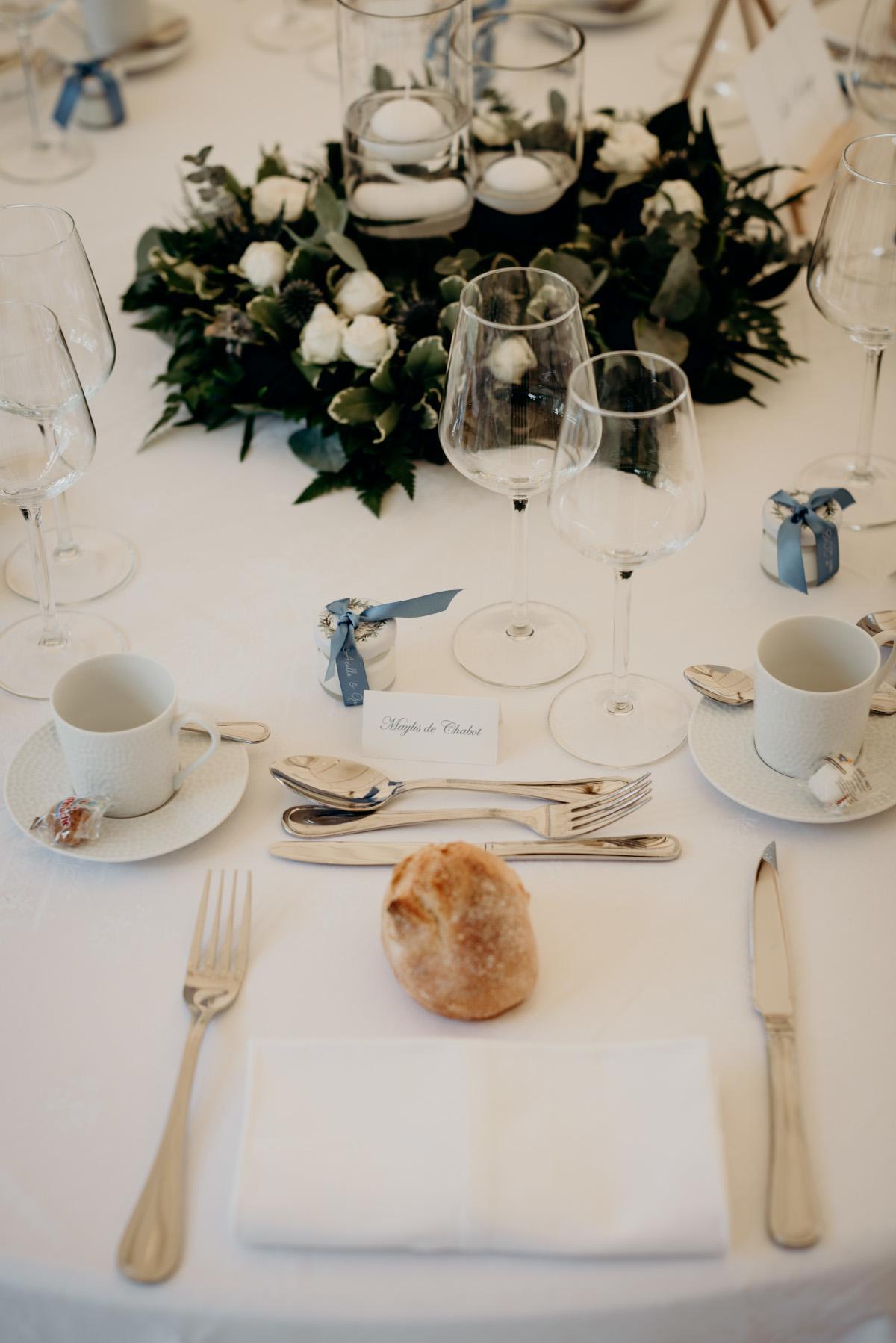 Mariage A&G centre de table 4