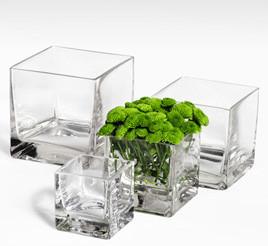 Vases carré