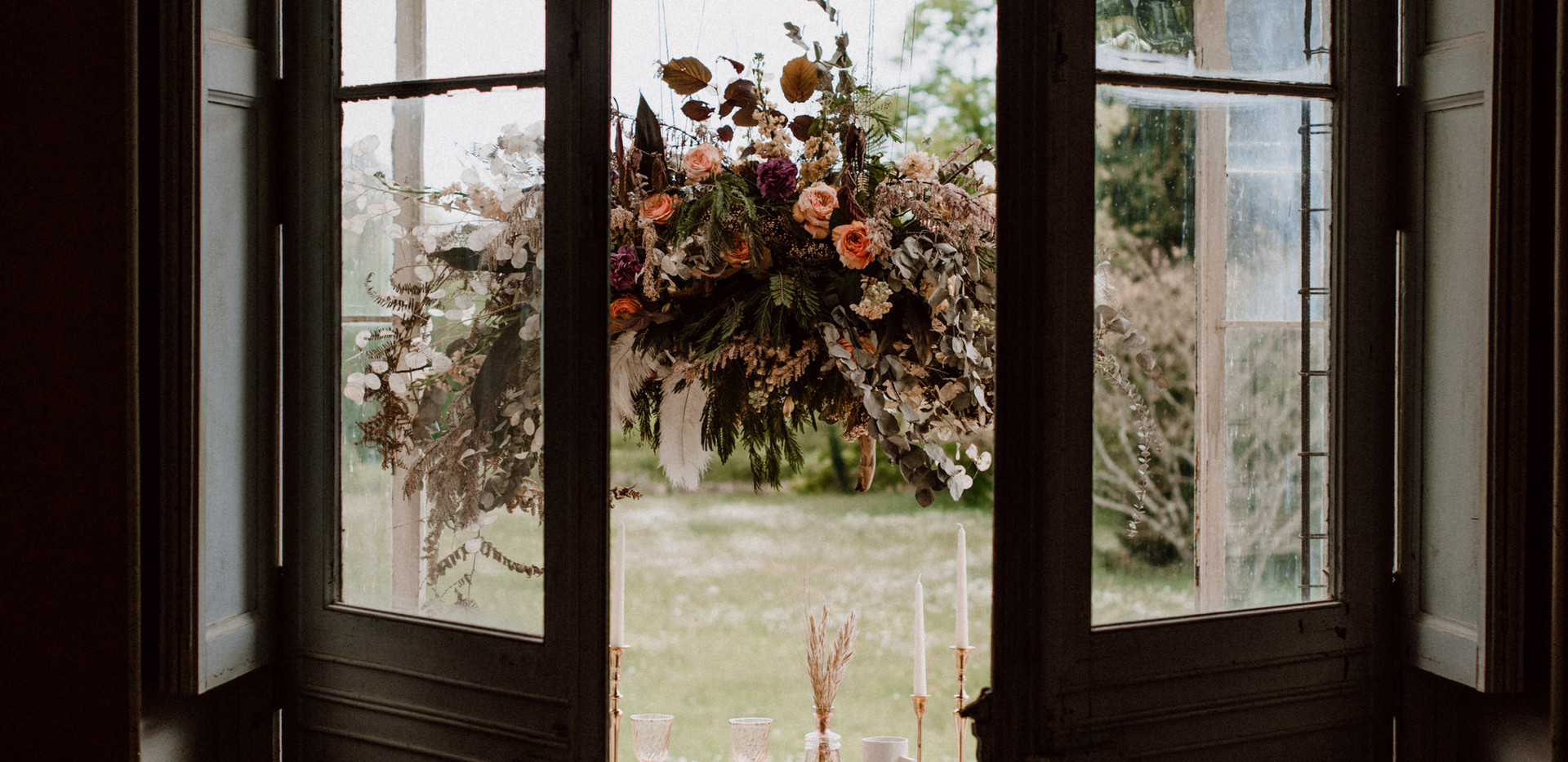 Table fleurie mariage