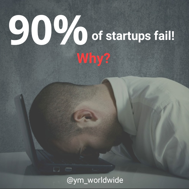 Quick check list why startups fail.