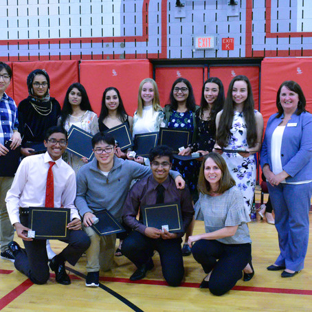 Academic Awards Night 2019 Snapshots