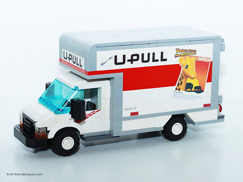 Lego Moving Truck