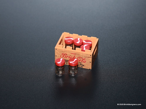 Printed Parts - Brick Cola