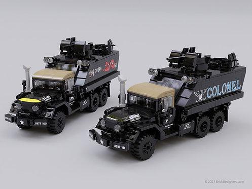 Gun Truck - Set