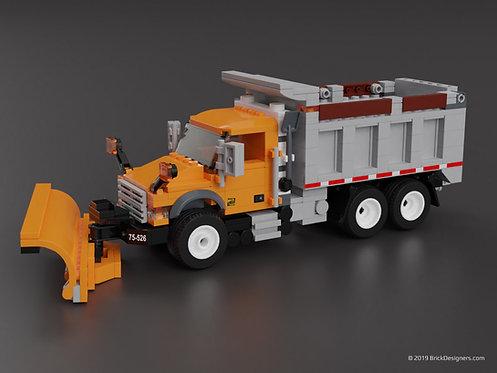 Lego Plow Truck