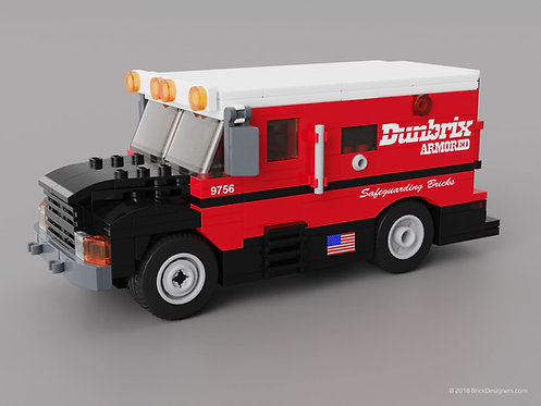 Lego Armored Truck