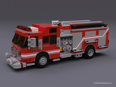 Fire Truck - Engine 8