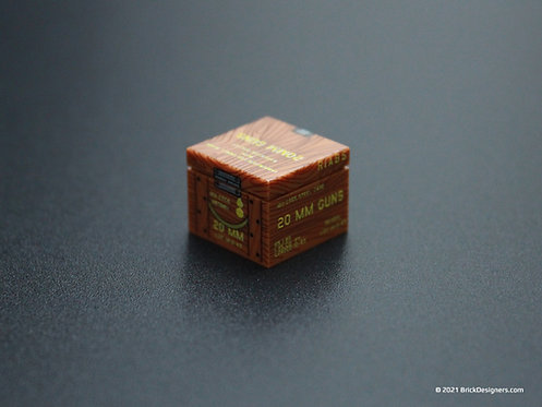 Printed Parts - 20mm Ammo Crate