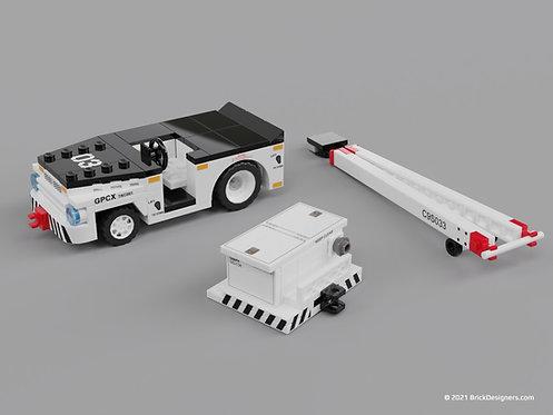 Navy Flight Deck Tractor - Set
